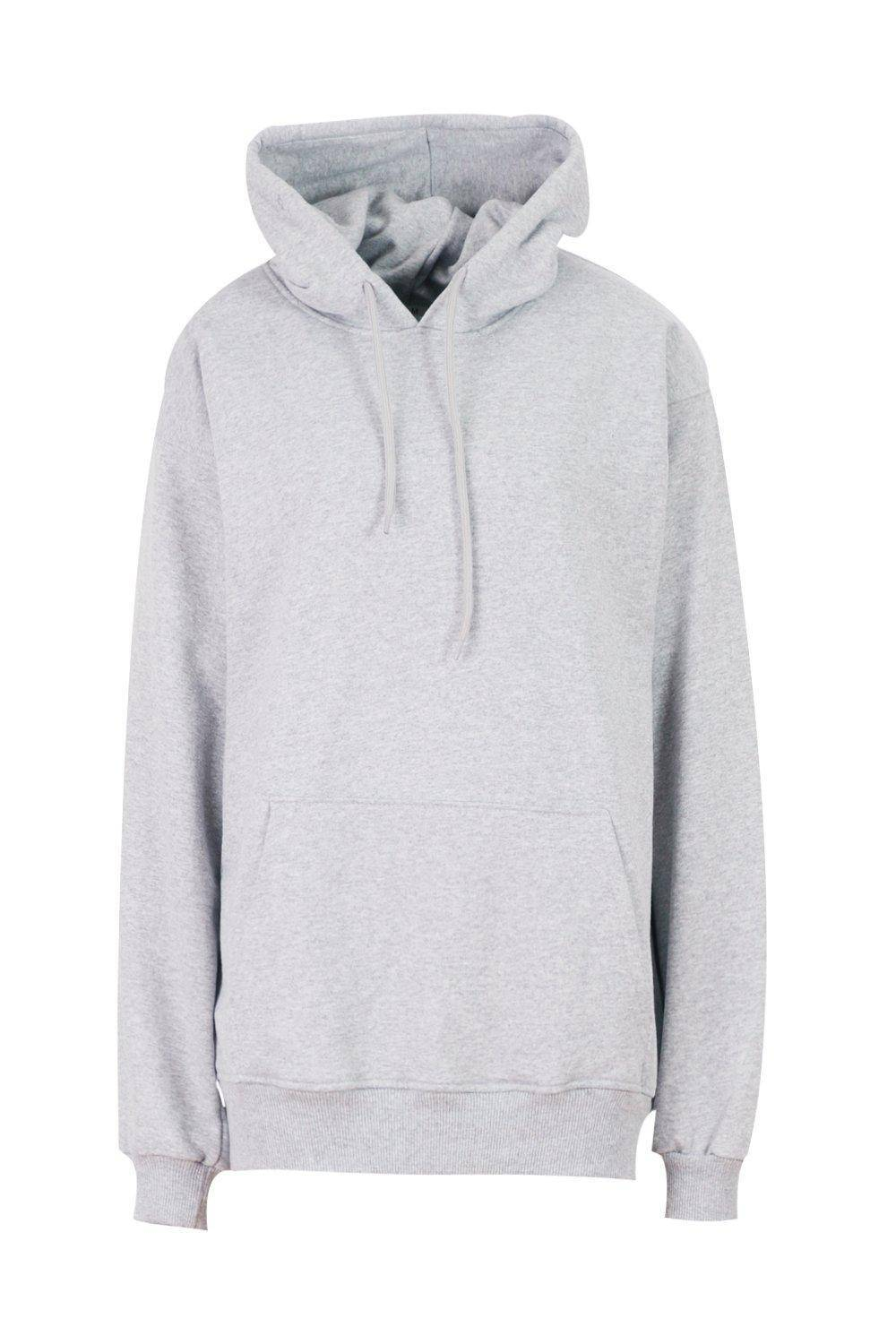 Grey Oversized Pullover Hoodie J5 Fashion