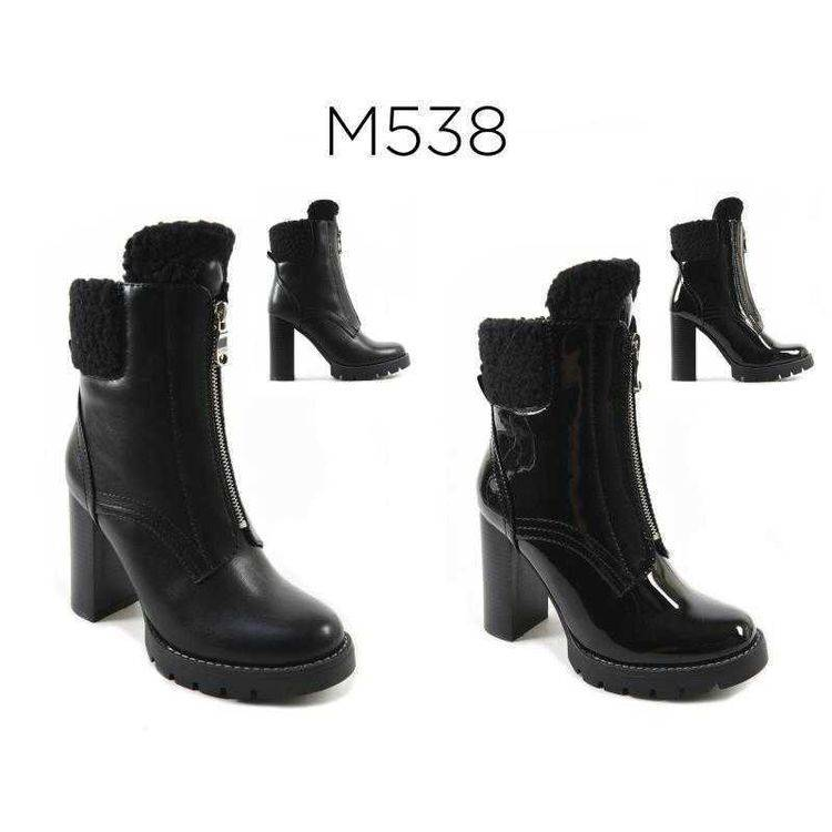 Ankle boot chunky Happy Feet