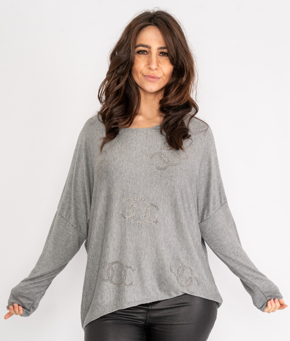 Long sleeve sparkle top Lucy Sparks