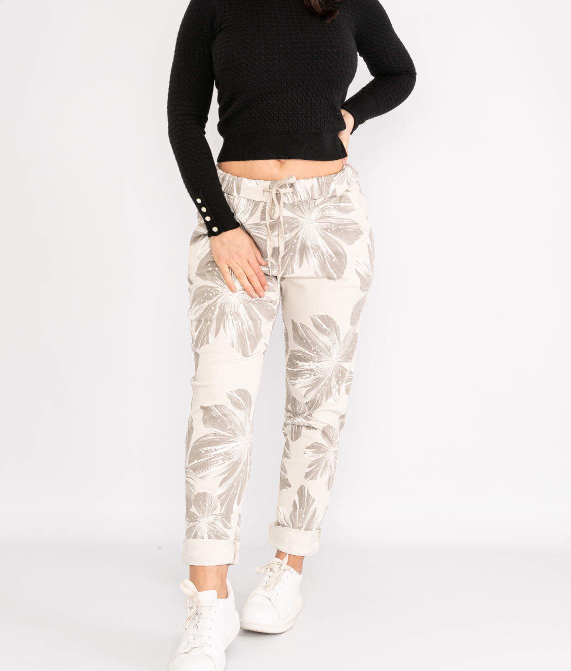 Floral print magic trousers Lucy Sparks