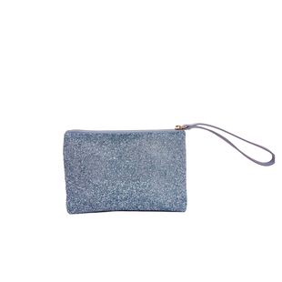 Square Glitter Clutch Purse with Leather wristband for Evening Wedding Party Christmas Superbia Fashion