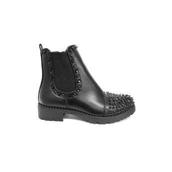 Stud Decorated Ankle Boots Moyee