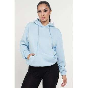 Baby Blue Premium Quality Plain Adults Hoodie Hooded Sweatshirts Sketch Trading Co Limited