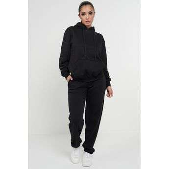 Black Casual Oversized Joggers Sweatpants Sketch Trading Co Limited