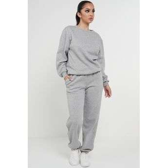 Grey Marl Oversized Joggers Sweatpants Sketch Trading Co Limited