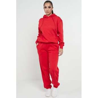 Red Casual Oversized Joggers Sweatpants Sketch Trading Co Limited