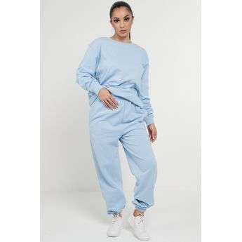 Baby Blue Casual Oversized Joggers Sweatpants Sketch Trading Co Limited