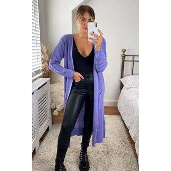 Longline Knitted Cardigan Top Attraction