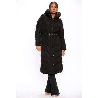 LongLine Padded Puffer Coat BE YOU