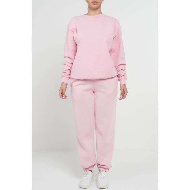 BABY PINK CASUAL OVERSIZED SWEATSHIRT Sketch Trading Co Limited