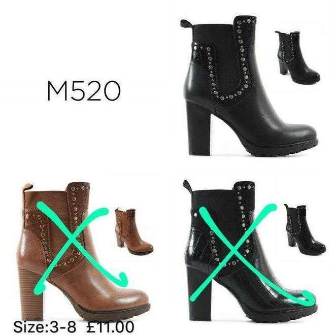 Stud Detail Ankle Boots Happy Feet